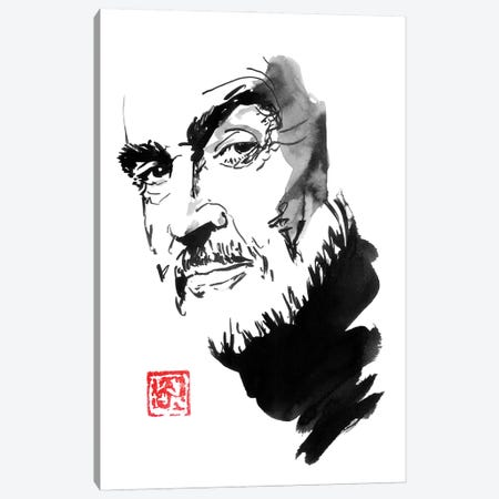 Sean Connery Canvas Print #PCN353} by Péchane Canvas Art Print