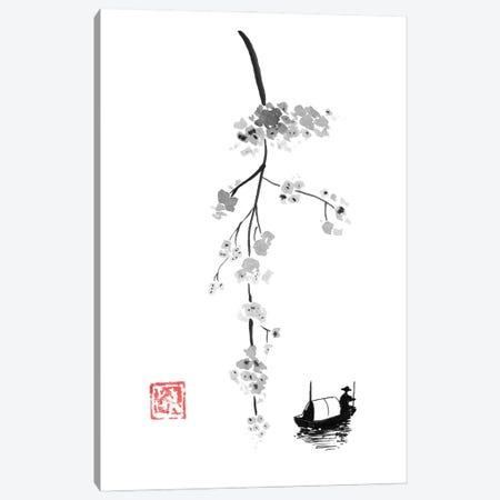 Branch On River Canvas Print #PCN377} by Péchane Canvas Art
