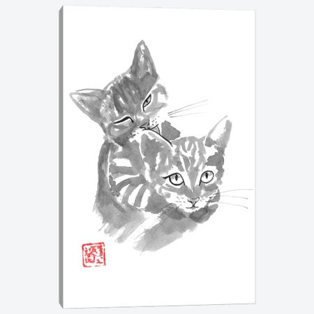 Brothers Canvas Print #PCN380} by Péchane Canvas Art