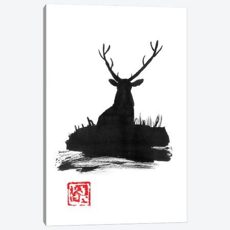 Deer II Canvas Print #PCN397} by Péchane Canvas Art