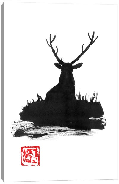 Deer II Canvas Art Print