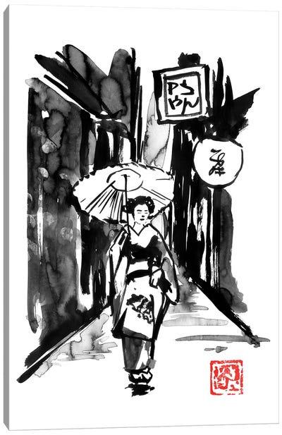 Edo Canvas Art Print