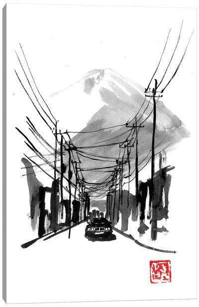 Fujiyoshida Canvas Art Print