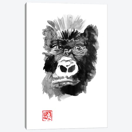 Gorilla Canvas Print #PCN410} by Péchane Canvas Art
