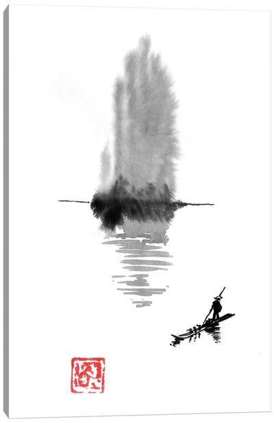 Hand Island Canvas Art Print
