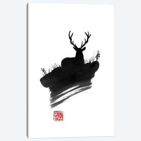 Deer Canvas Print #PCN41} by Péchane Canvas Art Print