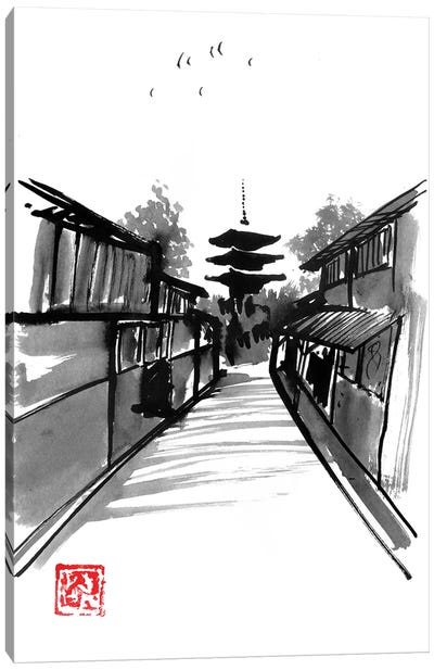 Pagoda Canvas Art Print