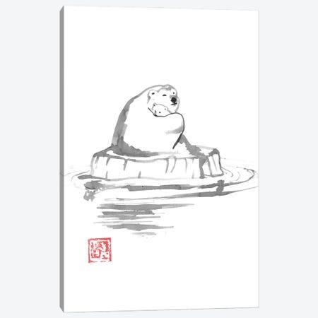 Polar Bears Canvas Print #PCN428} by Péchane Canvas Print