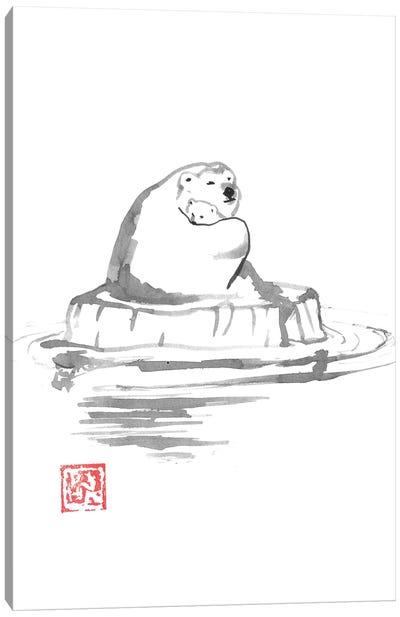 Polar Bears Canvas Art Print