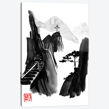 Stairway To Heaven Canvas Print #PCN432} by Péchane Canvas Wall Art