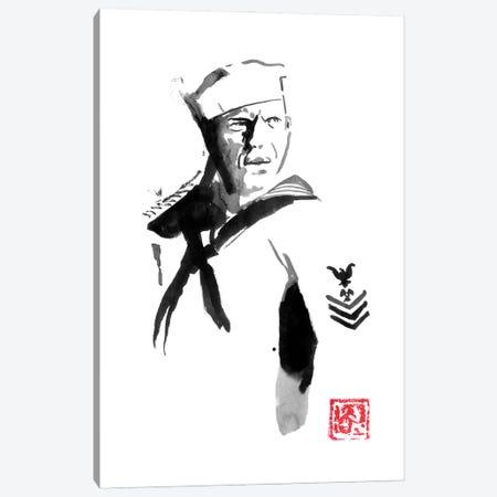 Steve Mcqueen I Canvas Print #PCN434} by Péchane Canvas Print