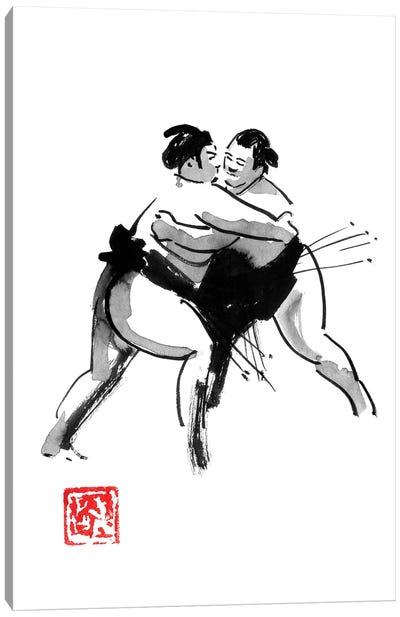 Sumo Canvas Art Print