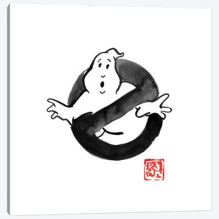 Ghostbusters Canvas Print #PCN449} by Péchane Canvas Print