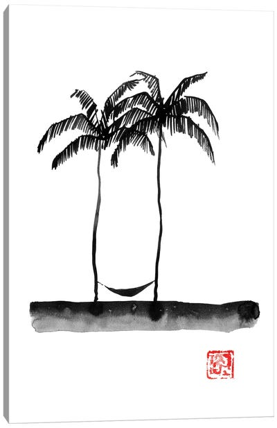 Hamac Canvas Art Print