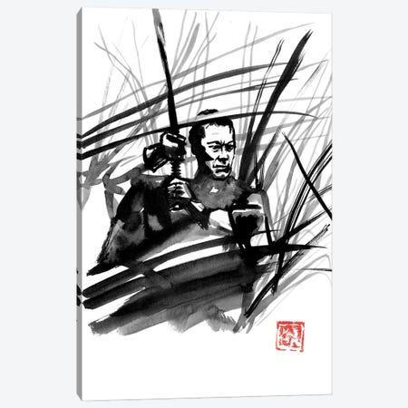 The Fight Canvas Print #PCN457} by Péchane Art Print