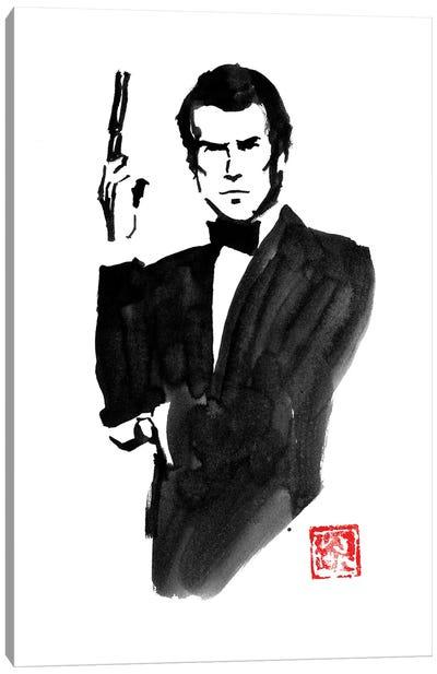 James Bond Pierce Brosnan Canvas Art Print