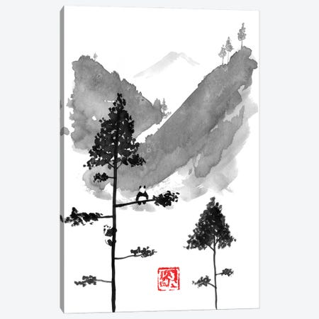 Pandas Dreams Canvas Print #PCN464} by Péchane Canvas Artwork