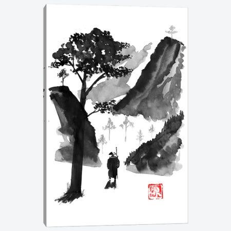 The Traveller Canvas Print #PCN468} by Péchane Canvas Art Print