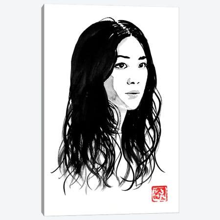 Tang Wei Canvas Print #PCN496} by Péchane Canvas Art Print