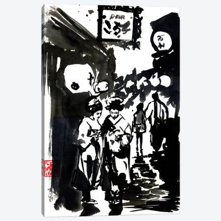 Edo Canvas Print #PCN50} by Péchane Canvas Artwork