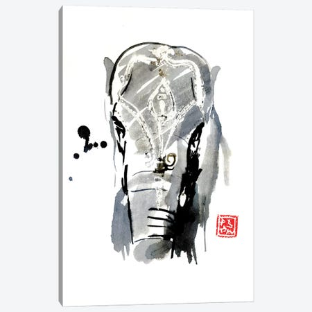 Asian Elephant Canvas Print #PCN5} by Péchane Canvas Artwork
