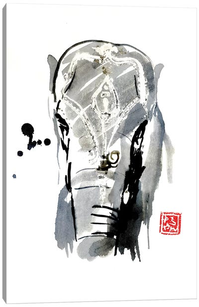 Asian Elephant Canvas Art Print