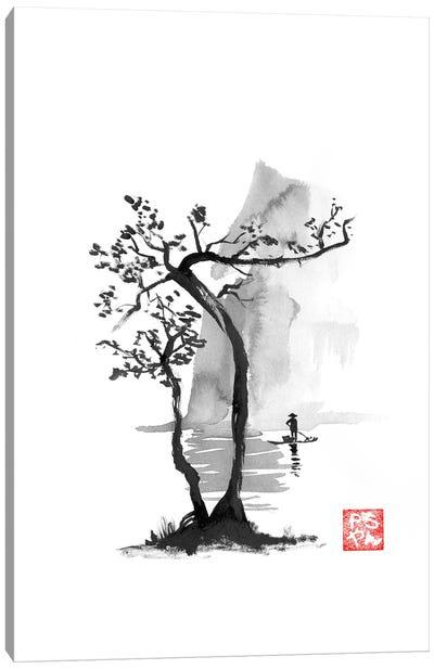 Fisherman Canvas Art Print