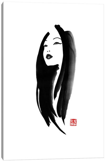 Geisha I Canvas Art Print