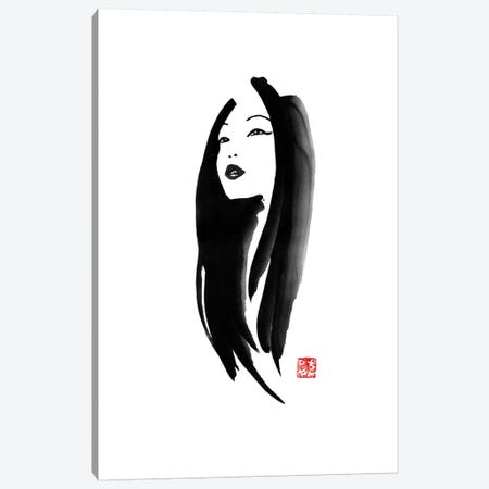 Geisha I 3-Piece Canvas #PCN67} by Péchane Canvas Artwork