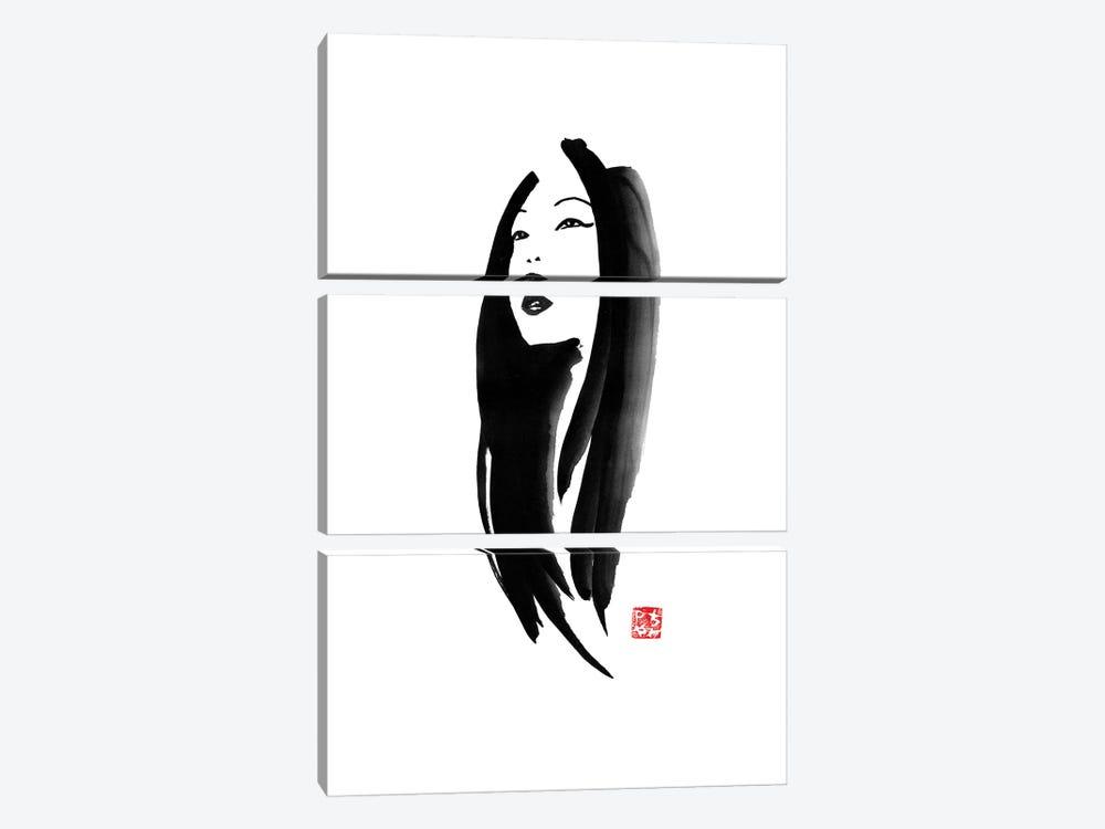 Geisha I by Péchane 3-piece Canvas Art