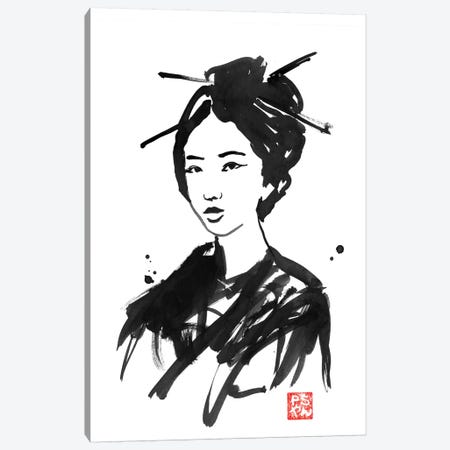 Geisha II Canvas Print #PCN68} by Péchane Canvas Art Print