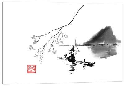Lake Canvas Art Print