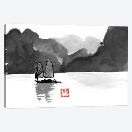 Baie D'Along 3-Piece Canvas #PCN9} by Péchane Art Print