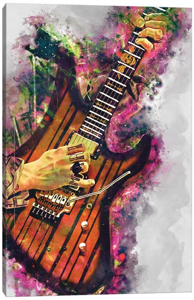 Synyster Gates's electric guitar Canvas Art Print