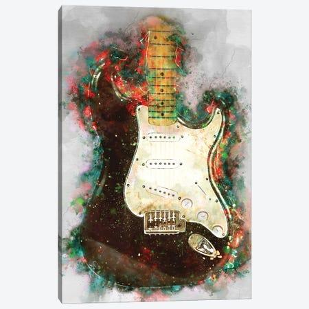 Eric Clapton's Blackie electric guitar Canvas Print #PCP102} by Pop Cult Posters Canvas Art