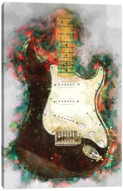 Eric Clapton's Blackie Electric Guitar Canvas Art Print