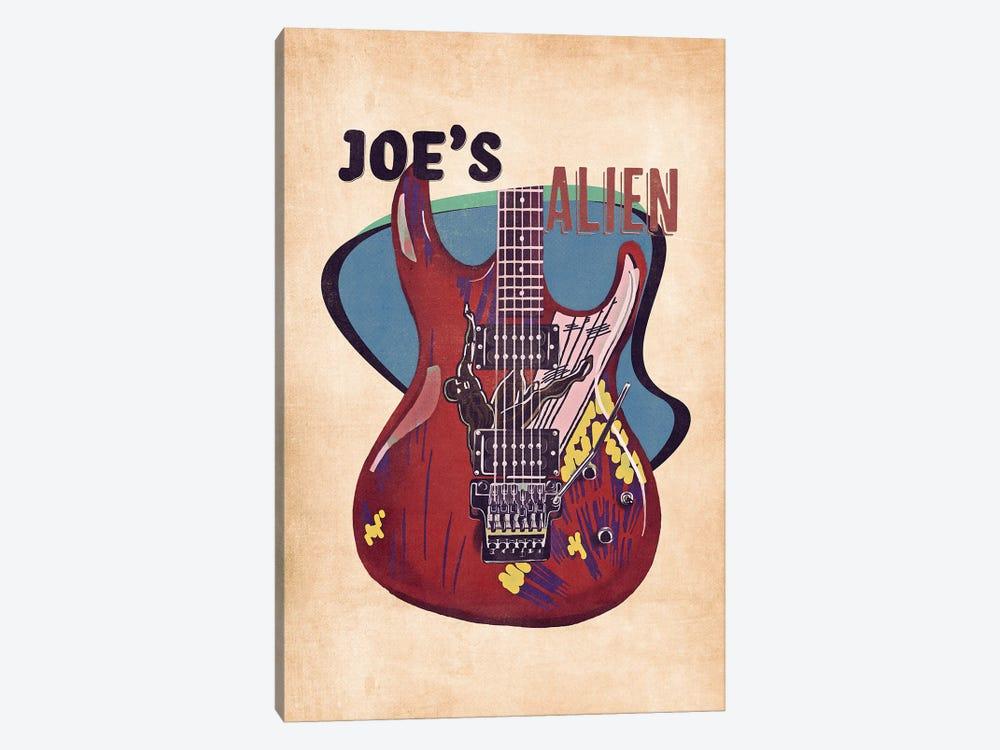 Joe Satriani's Guitar Retro by Pop Cult Posters 1-piece Art Print
