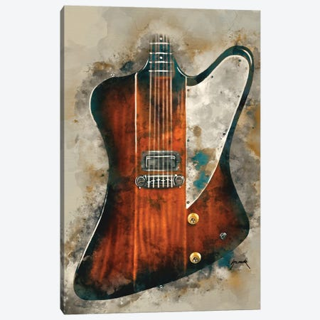 Eric Clapton's Electric Guitar Canvas Print #PCP16} by Pop Cult Posters Canvas Art Print