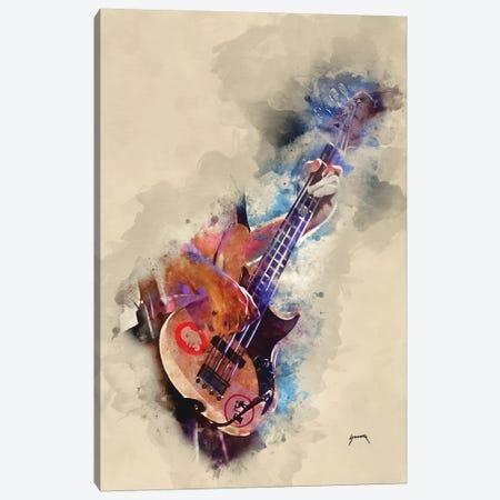 Flea's Bass Canvas Print #PCP17} by Pop Cult Posters Canvas Art Print