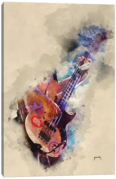 Flea's Bass Canvas Art Print