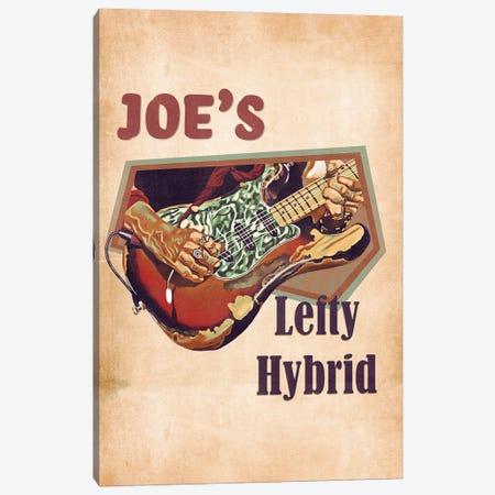 Joe Perry's Lefty Hybrid Guitar Canvas Print #PCP181} by Pop Cult Posters Canvas Art