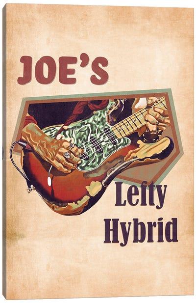 Joe Perry's Lefty Hybrid Guitar Canvas Art Print