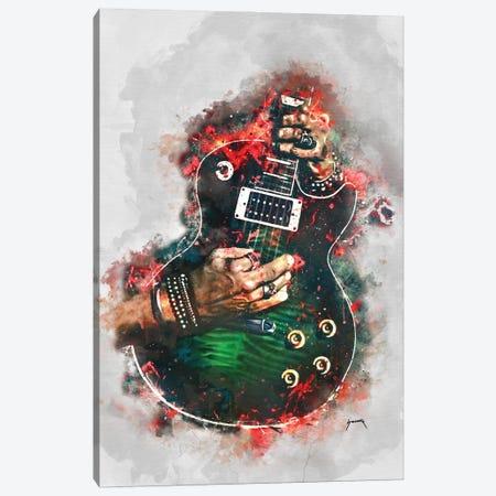 Slasher Anaconda Electric Guitar Canvas Print #PCP182} by Pop Cult Posters Canvas Artwork