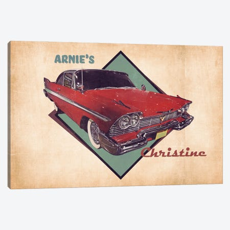 Arnie's Christine Canvas Print #PCP185} by Pop Cult Posters Art Print