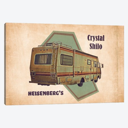 Heisenberg's Laboratory Canvas Print #PCP186} by Pop Cult Posters Canvas Print