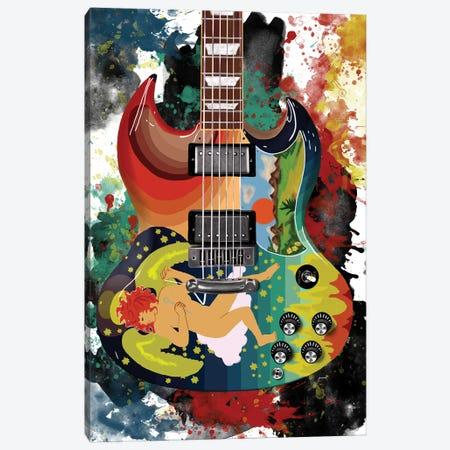 Eric Clapton's Solid Guitar Canvas Print #PCP207} by Pop Cult Posters Canvas Art