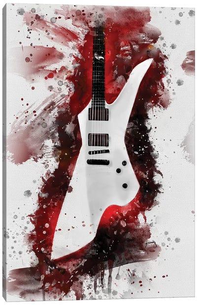 James Hetfield's Guitar II Canvas Art Print