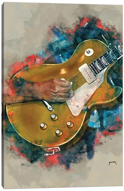 John Fogerty's Guitar Canvas Art Print