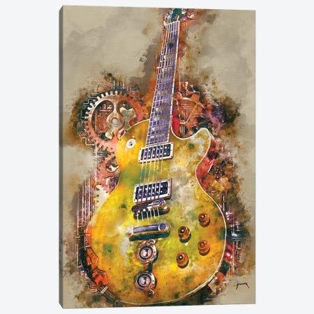 Slash's Steampunk Guitar Canvas Print #PCP50} by Pop Cult Posters Canvas Wall Art