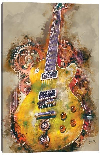 Slash's Steampunk Guitar Canvas Art Print